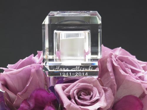 花水晶シリーズのプリザーブドフラワー